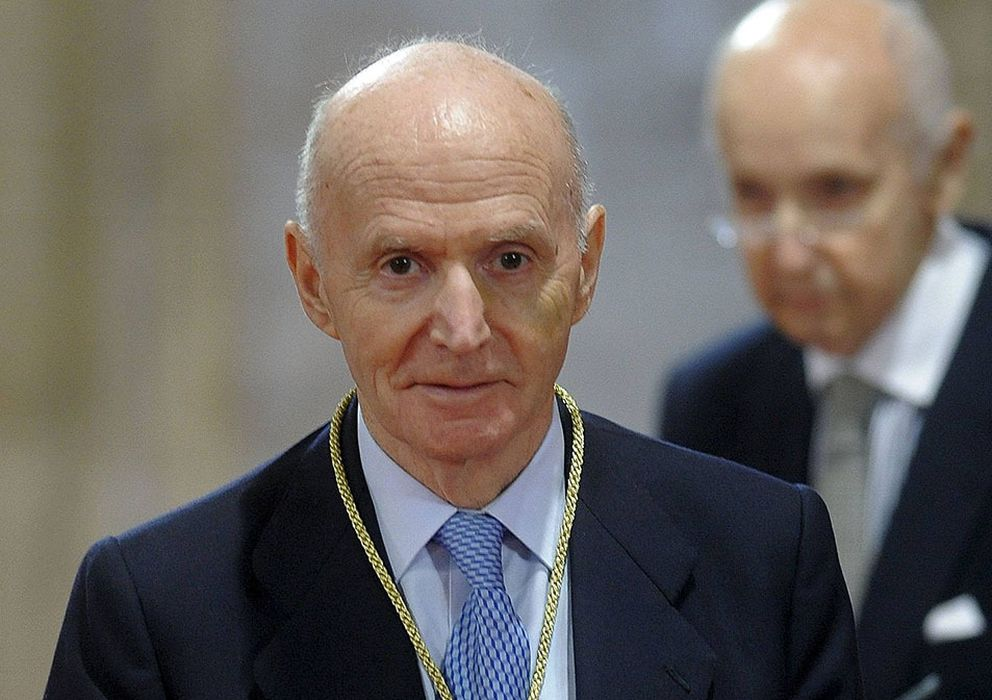 Foto: Gonzalo Anes, director de la Real Academia de la Historia desde 1998, en febrero de 2010.