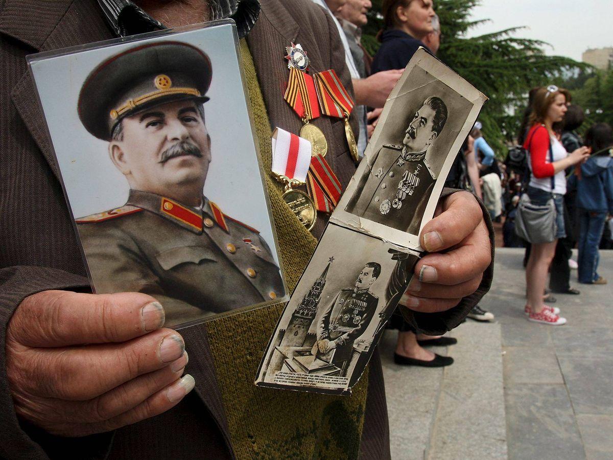 Foto: Celebración del día de la victoria sobre la Alemania nazi en Georgia (Reuters)