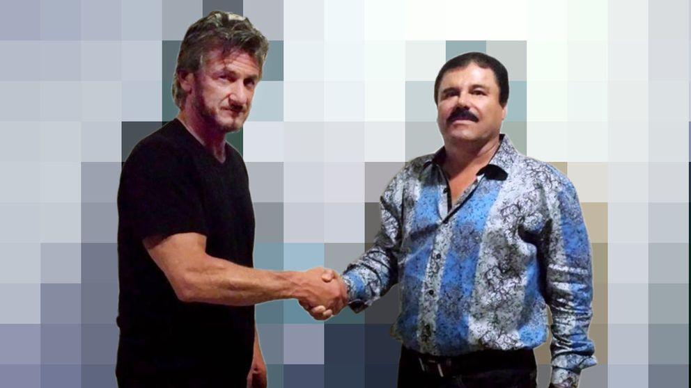 Sean Penn se la saca ante 'El Chapo' Guzmán. Duelo egocéntrico de titanes