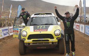 Coma, motos, y Roma, coches, primer doblete español en el Dakar
