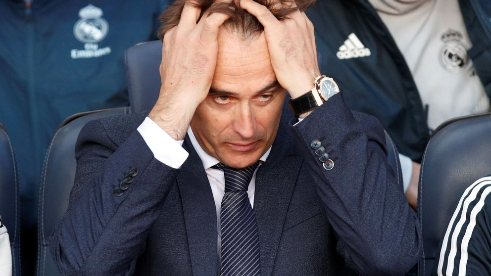 El despido de Lopetegui se cocinó en el descanso (falta que lo remate Florentino)