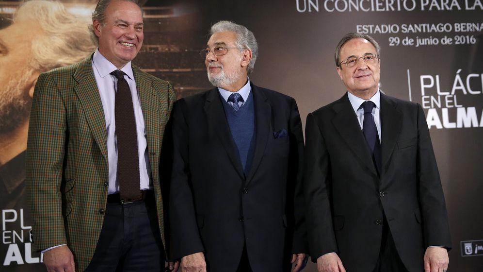 Foto: Bertín Osborne y Florentino Pérez, en un evento. (EFE)