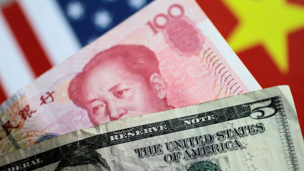 Foto: Guerra de divisas entre China y EEUU. (Reuters)
