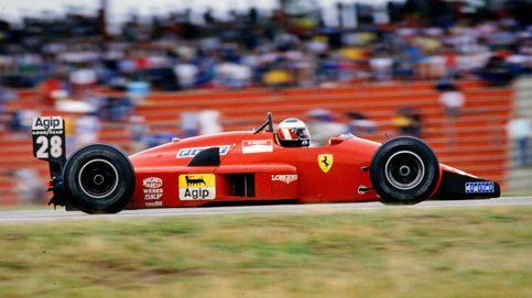 Cuando el 'capitano' español aceleró el último monoplaza a Enzo Ferrari antes de morir
