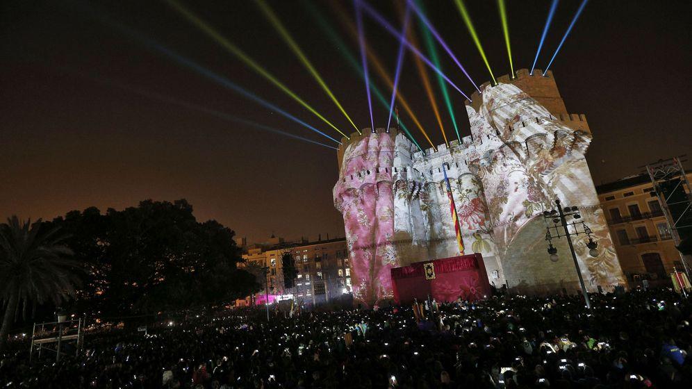 Foto: Imagen de archivo del acto de la Crida en Valencia (EFE)
