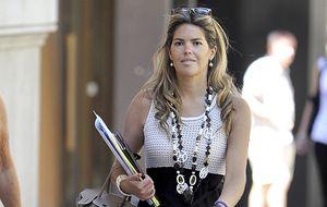 Cristina Valls Taberner da a luz a su primera hija en Barcelona