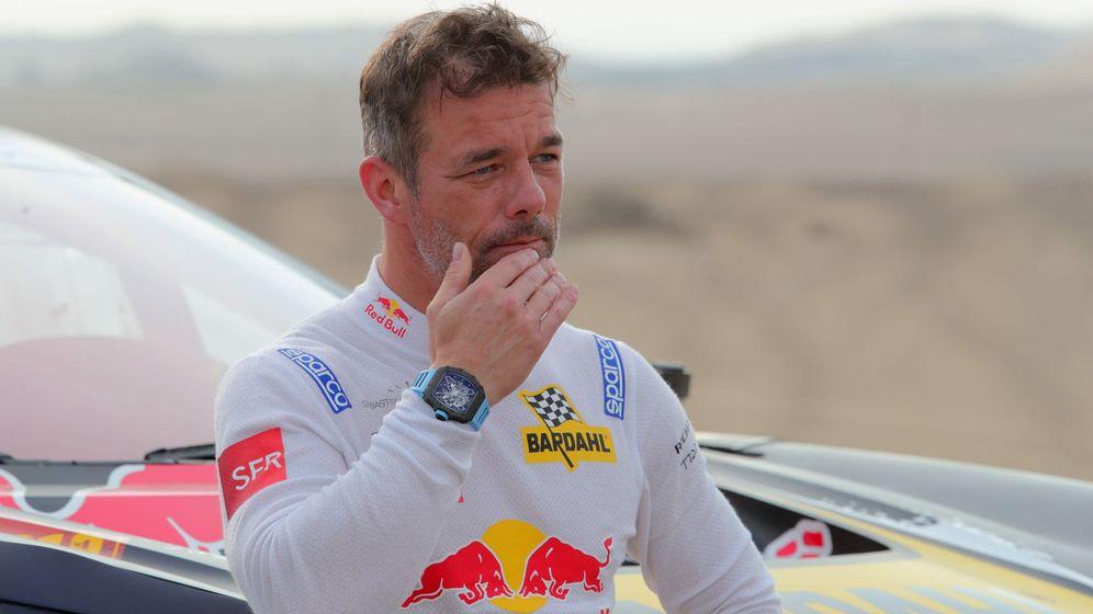 Foto: Sebastien Loeb, en el Rally Dakar 2019. (EFE)