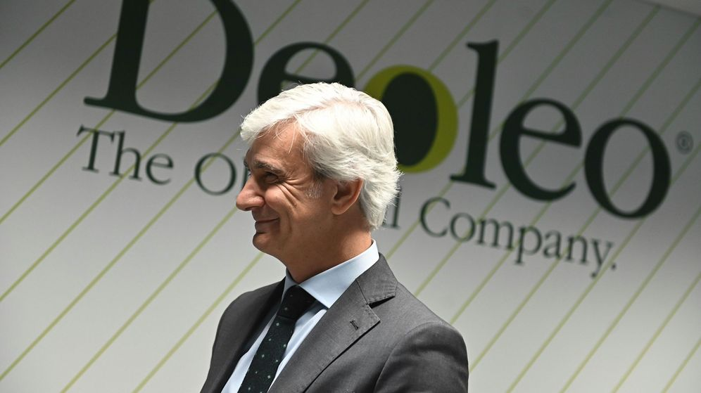 Foto: El presidente y consejero delegado de la aceitera Deoleo, Ignacio Silva durante la Junta Extraordinaria de Accionistas