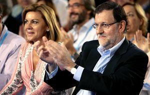 Rajoy manda a Cospedal a CLM y busca un jefe de campaña de peso