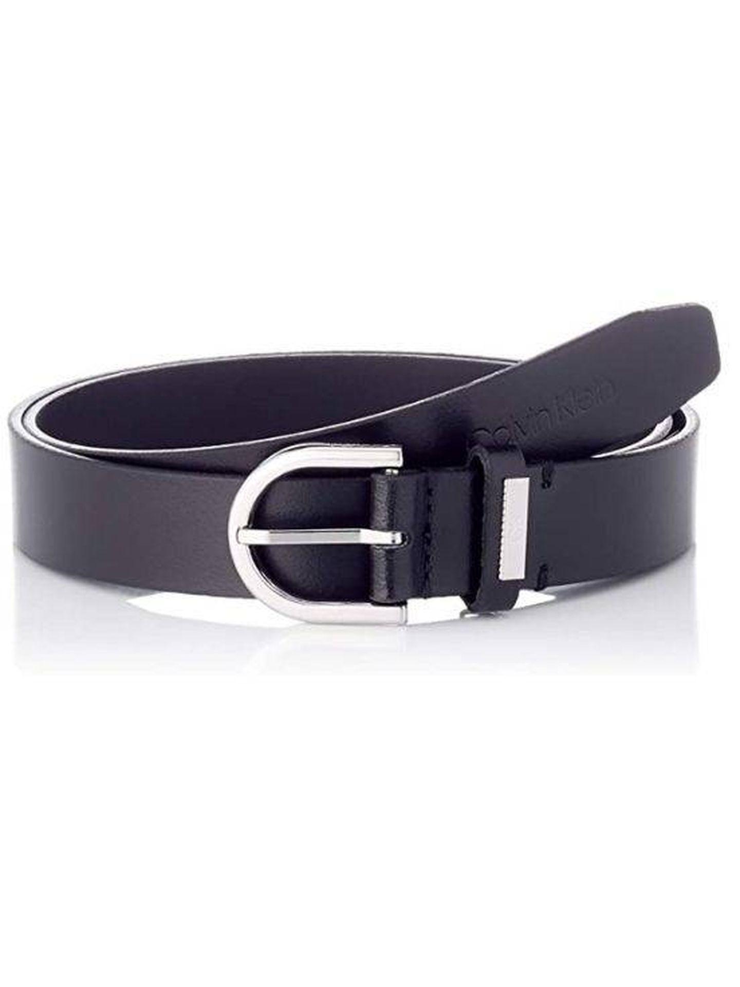 Cinturón de Calvin Klein. (Cortesía)