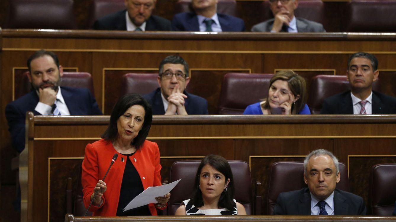 Margarita Robles, la voz del nuevo PSOE en el Congreso