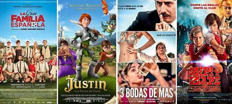 Foto: Carteles de las películas españolas para este otoño