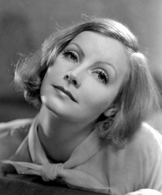 Foto: Greta Garbo posando para MGM.