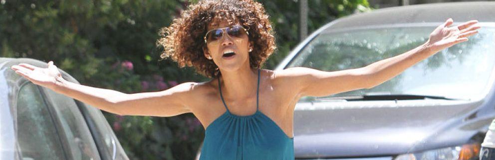 Halle Berry pierde los papeles con los 'paparazzi'