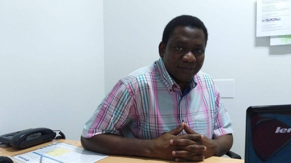 Foto: Daniel Zerbo, vicepresidente del Alto Consejo de Malienses de España.