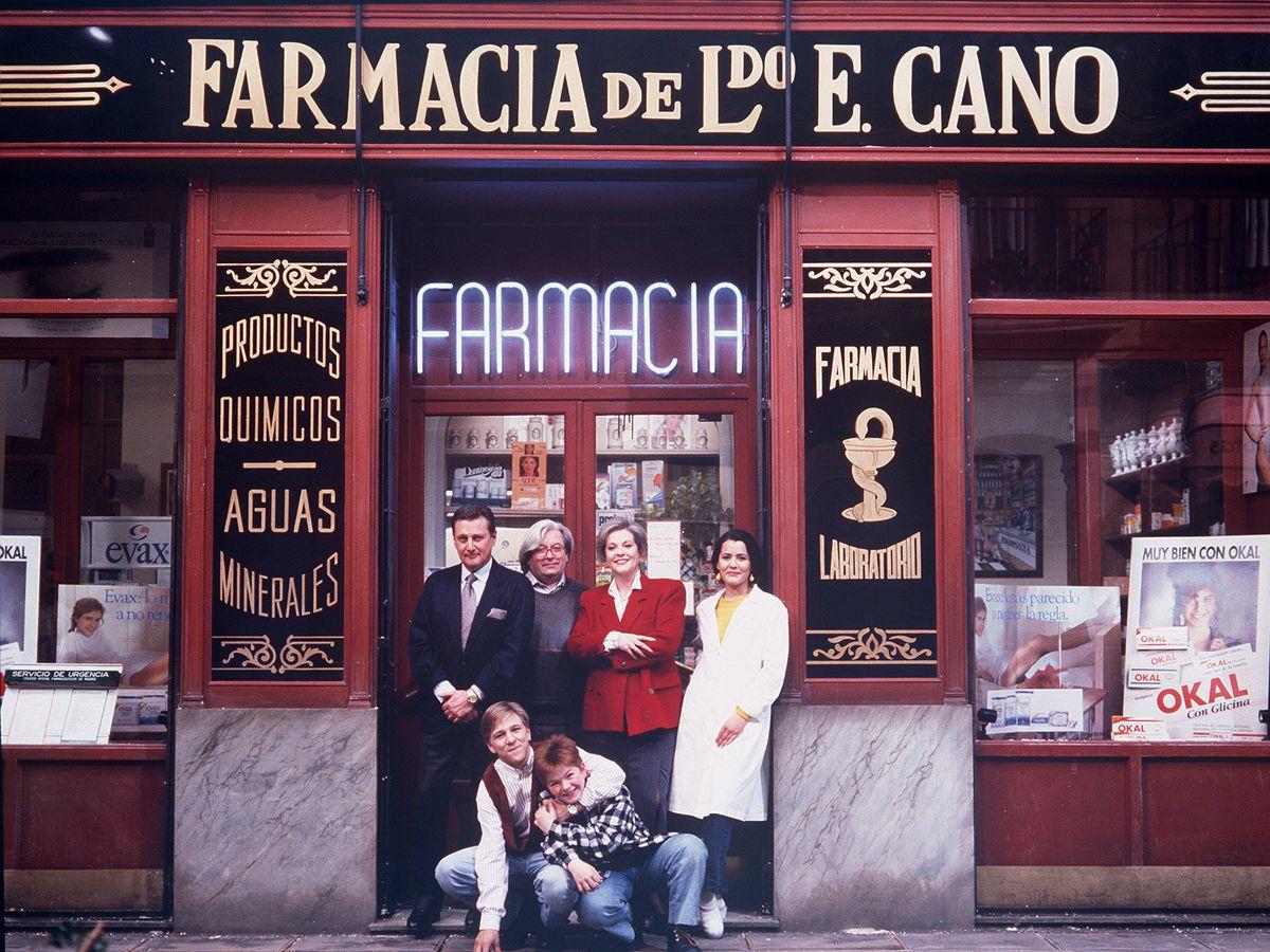 Foto: 'Farmacia de guardia', el primer gran éxito de ficción de Antena 3. (Atresmedia)