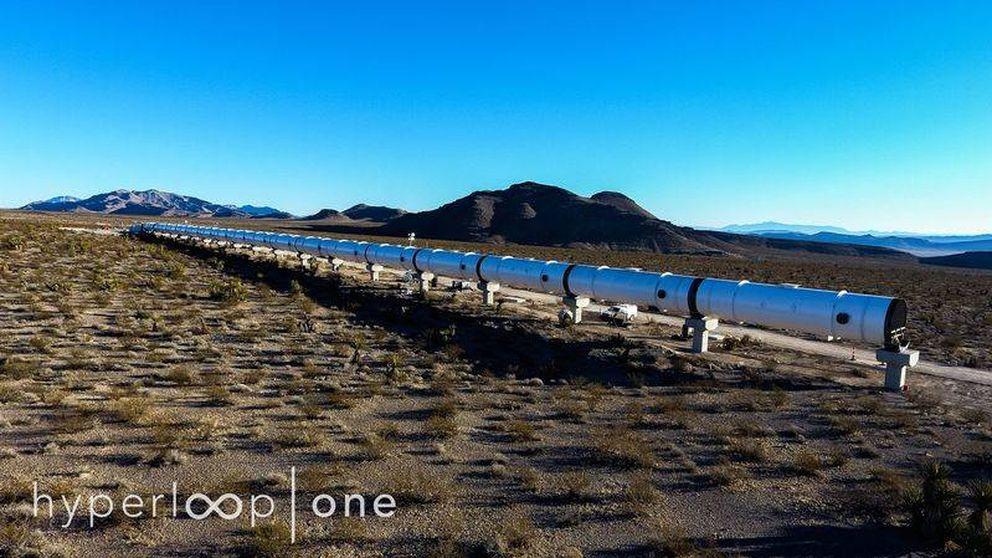 La primera pista del Hyperloop para viajar a 1.200 km/h ya está lista