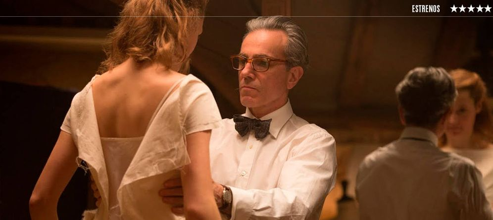Foto: Daniel Day-Lewis en 'El hilo invisible'.