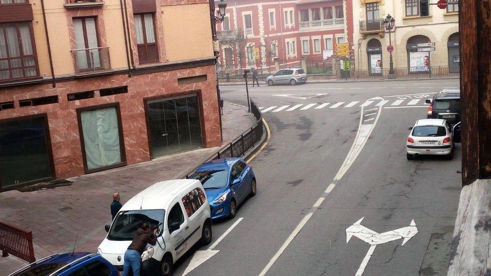 Un atracador de un banco en Asturias se pega un tiro en la cabeza al verse acorralado