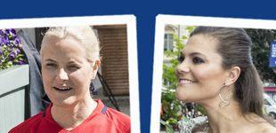 Post de Estilo Real: Victoria se suelta la melena y Mette-Marit se pasa al chándal