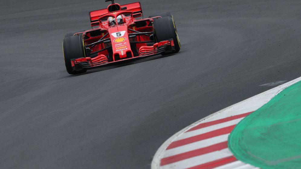 Foto: Sebastian Vettel durante esta pretemporada. (Reuters)
