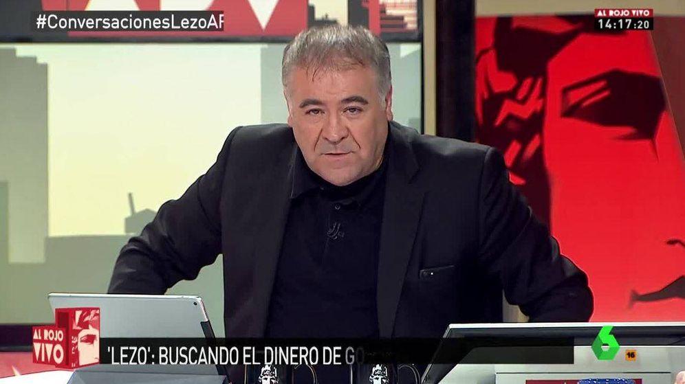 Foto: Ferreras en 'Al rojo vivo'