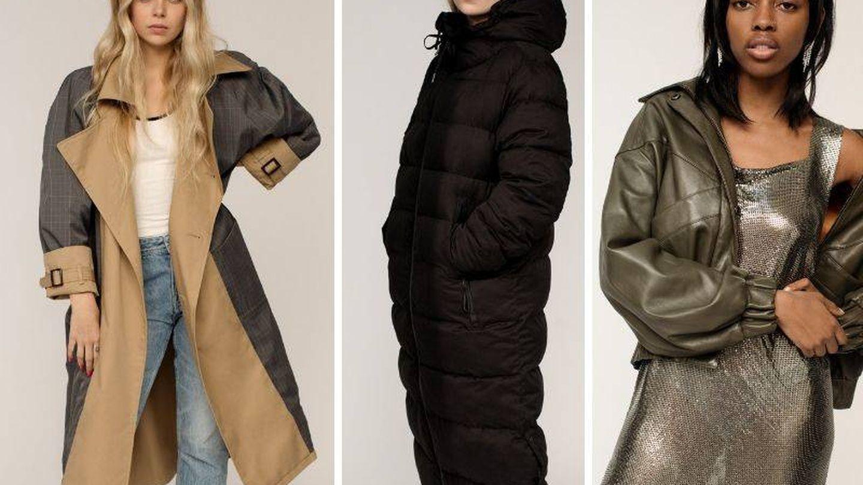 Las propuestas de abrigo de la colección. (Cortesía)