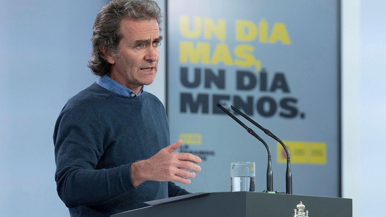 El director del Centro de Alertas y Emergencias Sanitarias del Ministerio de Sanidad, Fernando Simón. (EFE)