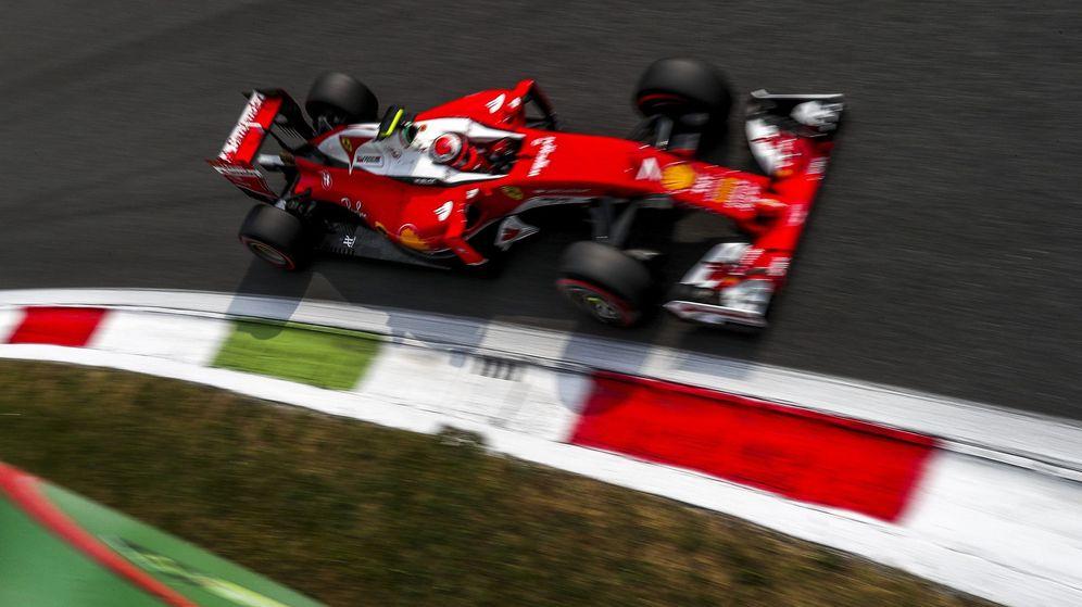 Foto: Kimi Raikkonen, este fin de semana en Monza.