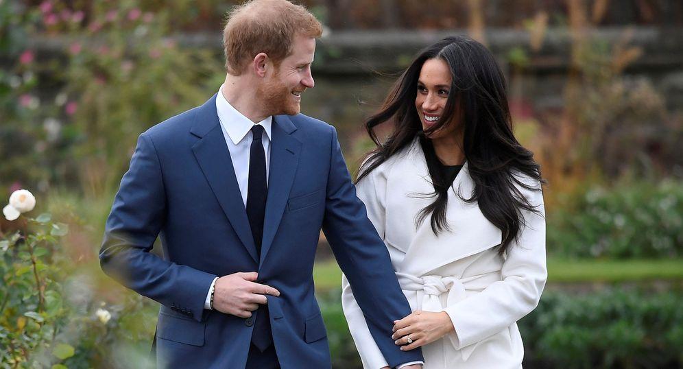 Foto: Meghan Markle y el príncipe Harry. (Reuters)