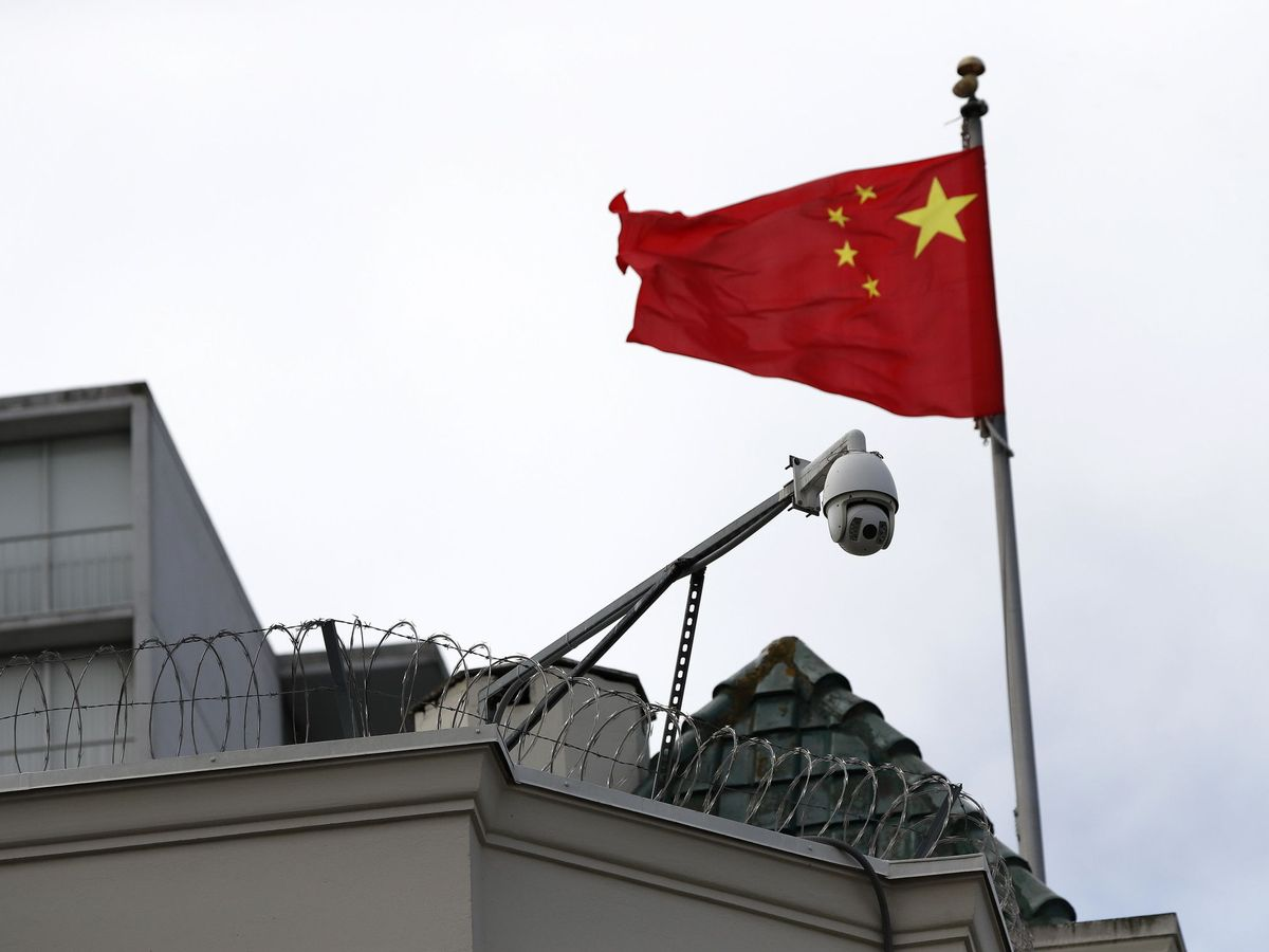 Foto: Consulado chino en San Francisco. (Reuters)