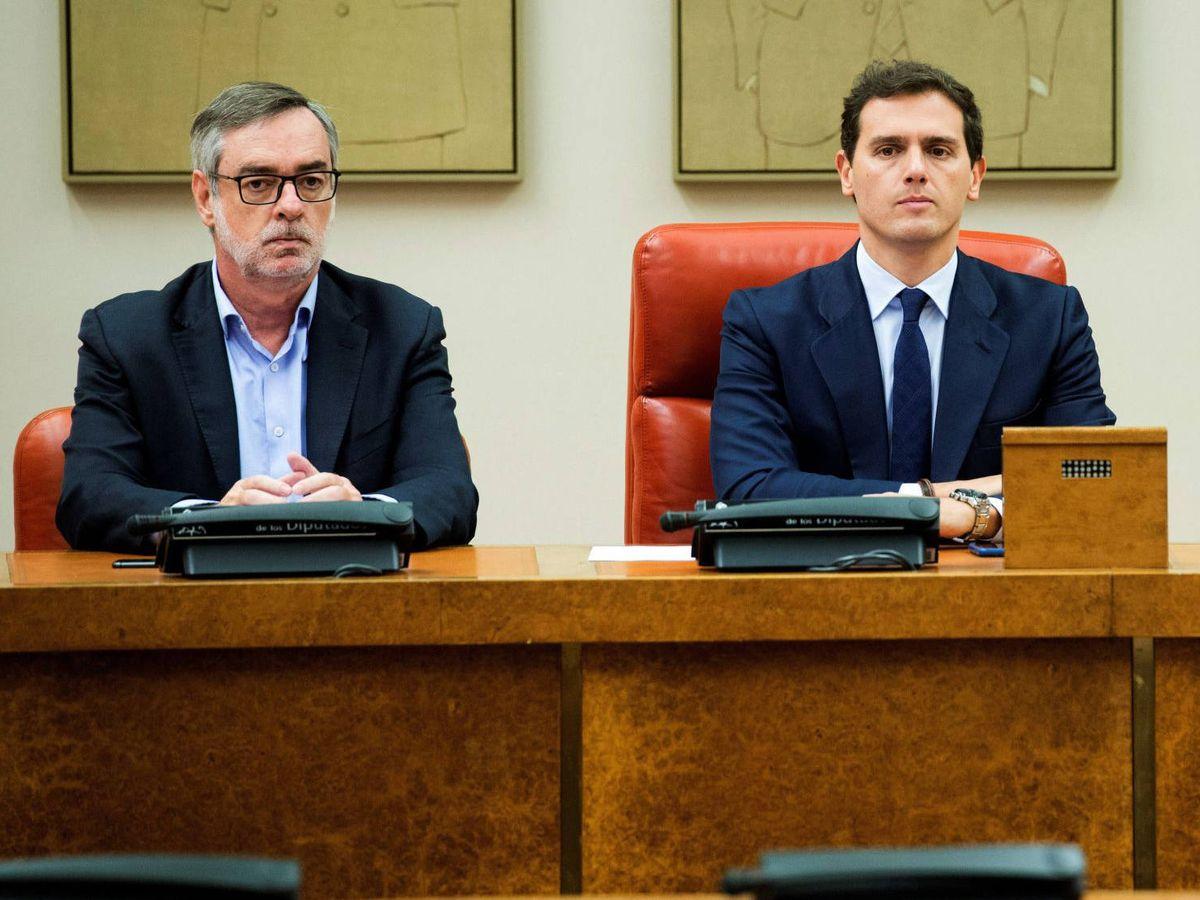 Foto: Villegas y Rivera, en una imagen de archivo. (EFE)