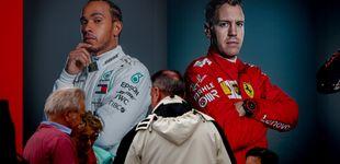 Post de Por qué a Sebastian Vettel y Lewis Hamilton les queda cada vez menos mecha en la F1