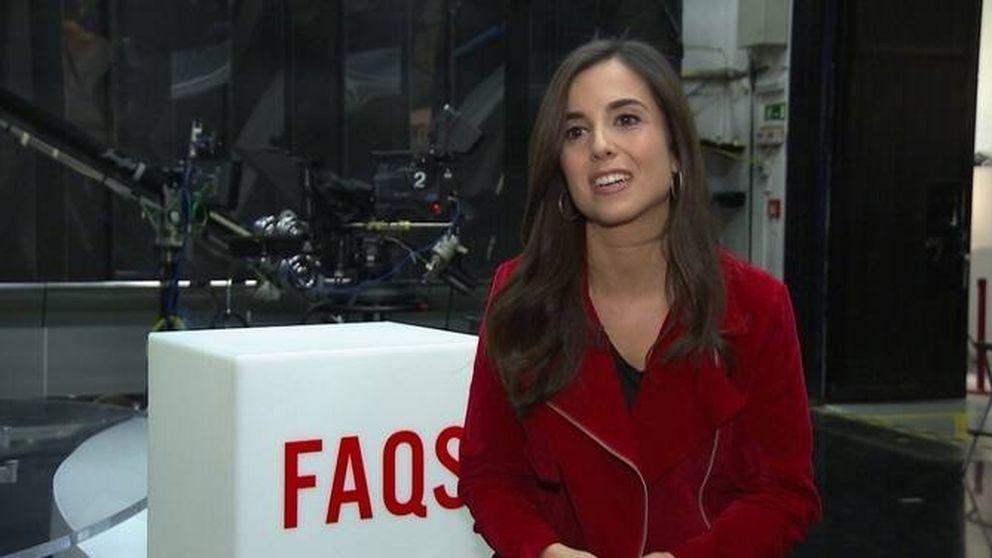 Laura Rosel presenta la tertulia de TV3 vestida con una camiseta de Puigdemont