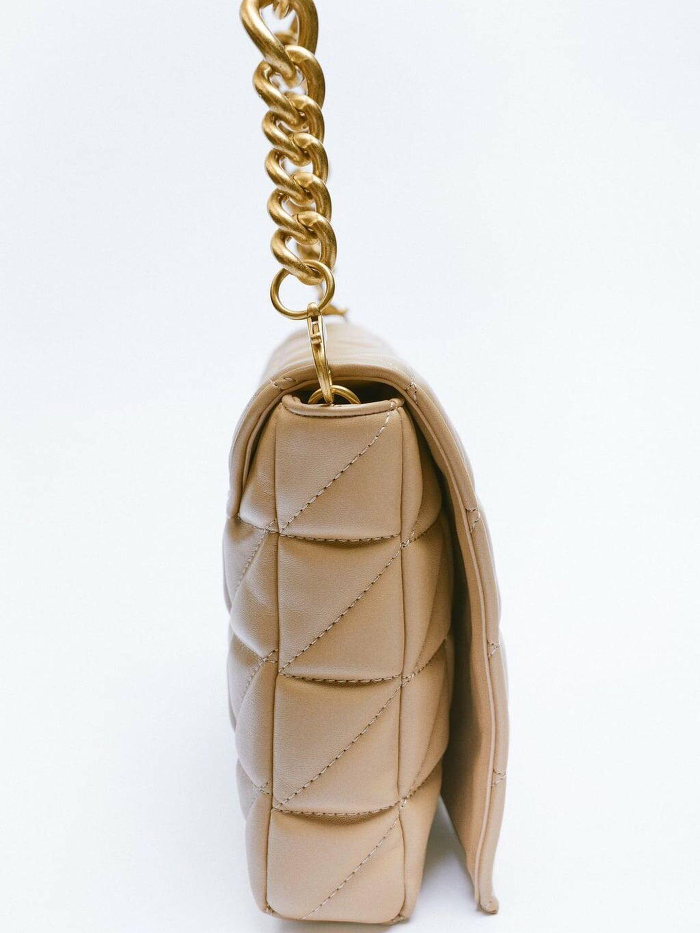 Bolso low cost de Zara. (Cortesía)