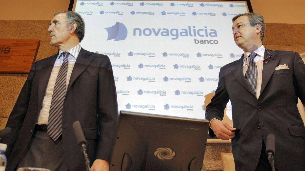 Foto: César González-Bueno (d), junto a José María Castellano. (EFE)