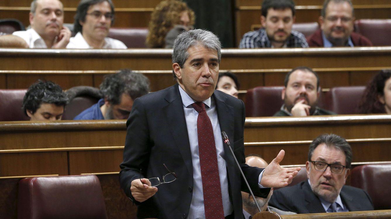 Foto: Francesc Homs en el Congreso de los Diputados. (Efe)