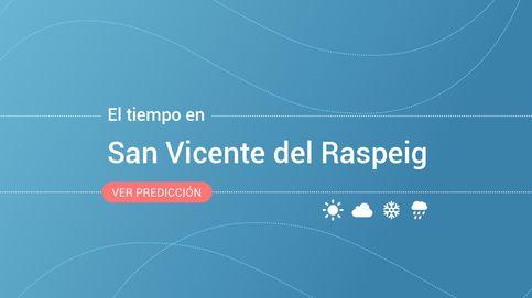Previsión meteorológica en San Vicente del Raspeig: alerta amarilla por lluvias