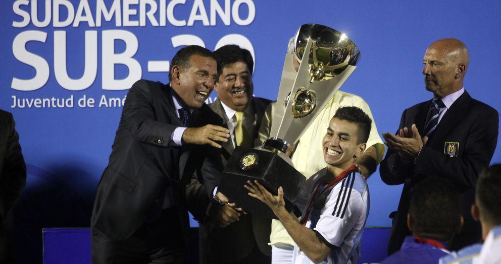 Suramericano Sub 20: LaLiga Santander: Ángel Correa, La Estrella Del