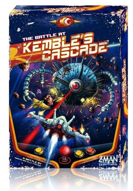 Foto: La caja de 'The Battle at Kemble's Cascade' ya recuerda al universo de las recreativas | Imagen: Z-Man Games