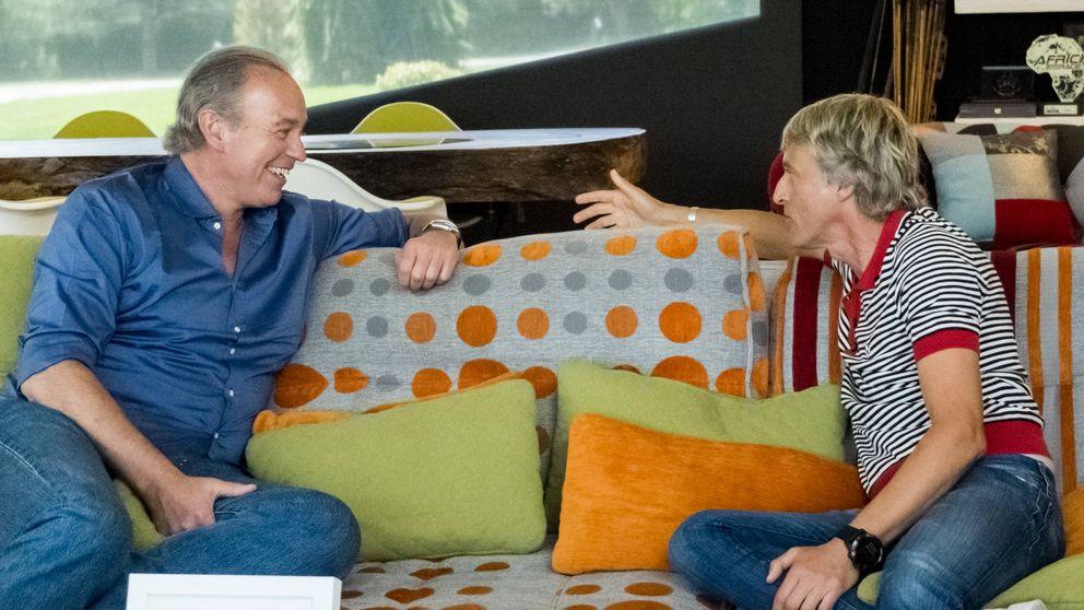 Jesús Calleja relata a Bertín Osborne que sigue en televisión gracias a Zapatero