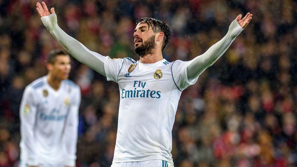 La suplencia de Isco, el último incendio de Zidane en el Real Madrid