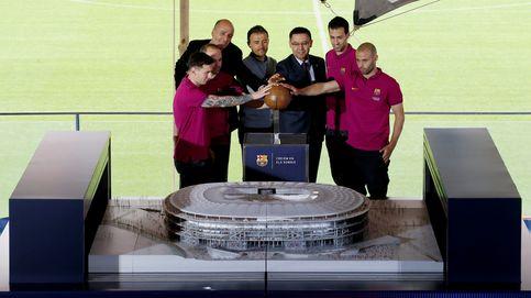 El Barça enseña su nuevo Camp Nou, que estará listo para la temporada 2021