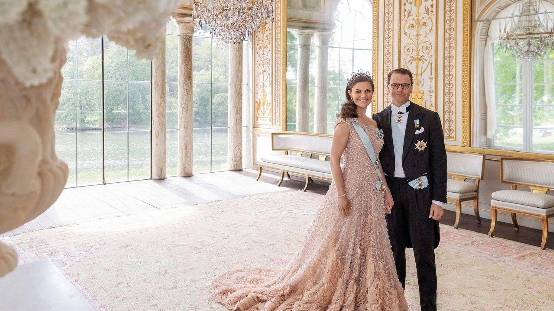 Victoria y Daniel de Suecia. (Kungahuset)