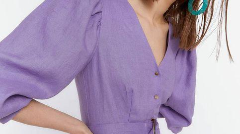 Todavía no ha llegado el verano, pero ya soñamos con lucir este vestido de Uterqüe con el color más 'in' de la temporada