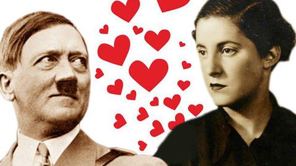 Foto: Montaje sobre fotografías de Hitler y Pilar Primo de Rivera.