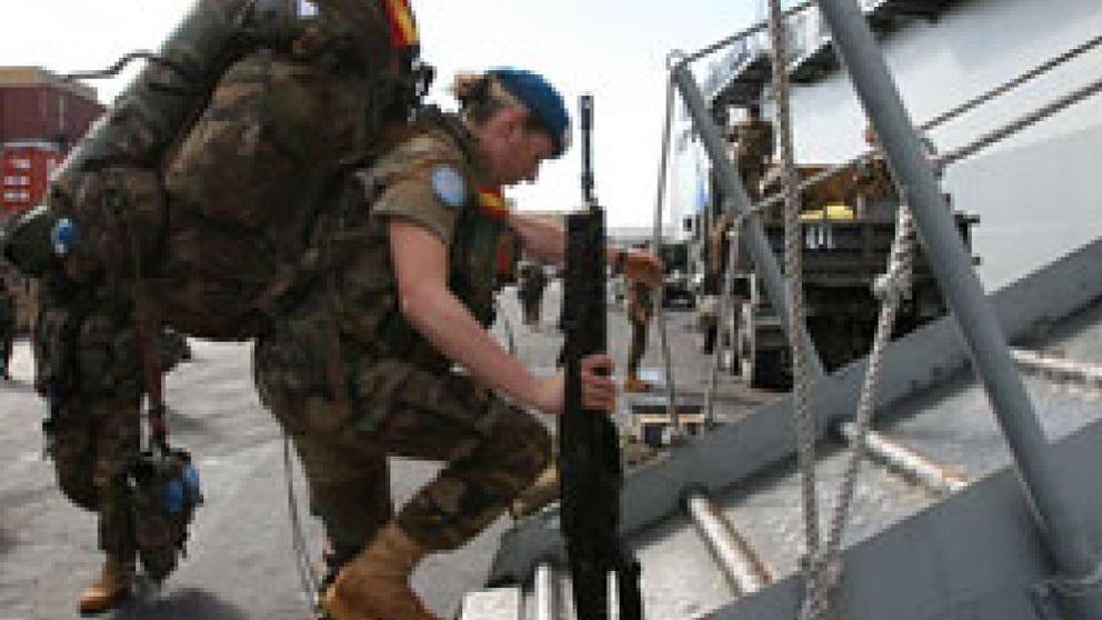 Cuatro militares españoles heridos en un accidente de carretera en Líbano