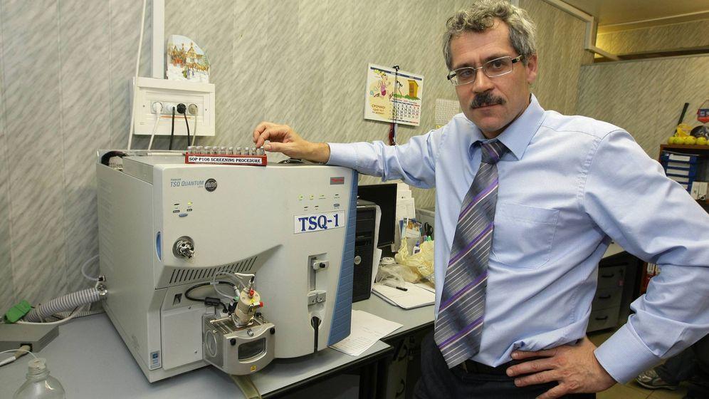 Foto: Grigory Rodchenkov en su época como director del Laboratorio Antidopaje de Moscú. (Imago).