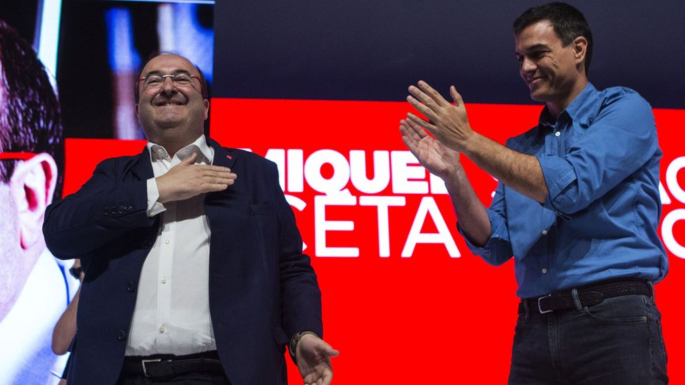 Sánchez se vuelca el 21-D: apoyo cerrado al PSC en unas catalanas en clave estatal