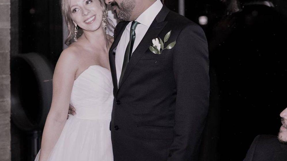 Foto: Maria Galitzine y su marido, en su boda en 2017. (Facebook)